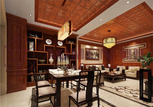 复古中式餐厅